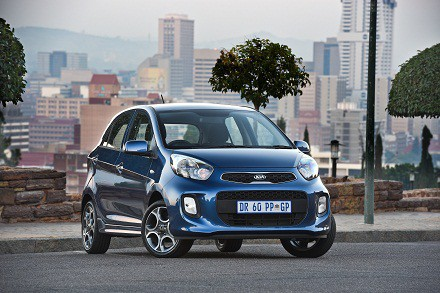 The new-look Kia Picanto: fresh from its debut in Geneva. Picture: Quickpic
