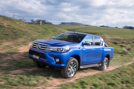 """Toyota's new Hi-Lux: """"offering exceptional performance."""" Picture: Quickpic"""