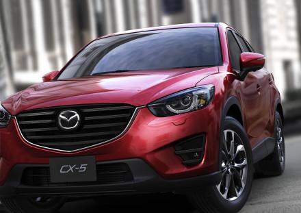 The Mazda CX5: second fastest model to reach the milestone. Picture: Quickpic