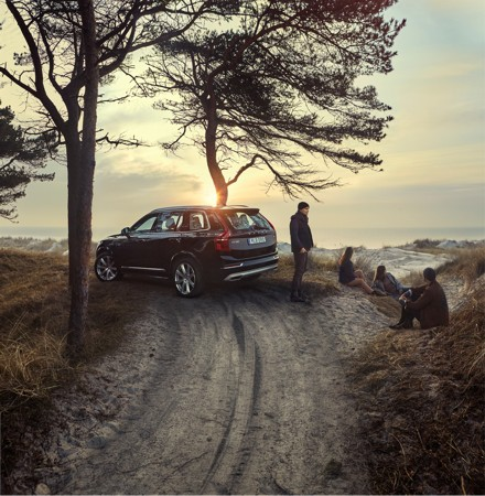 Volvo: feeling good. Picture: Quickpic
