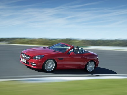 The Mercedes-Benz SLK: order books open for roadster. Picture: Quickpic