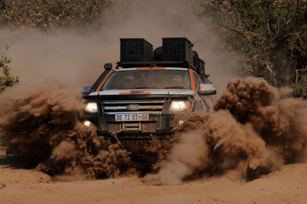 "The Ford Ranger: a ""life-changing"" adventure. Picture: Quickpic"