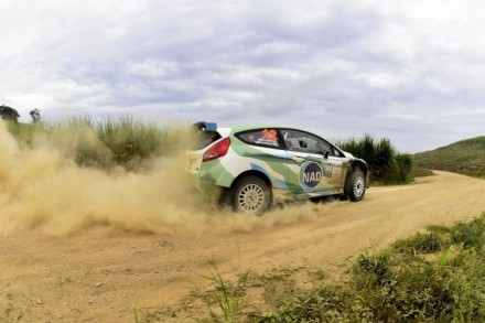 Japie Van Niekerk:  ready for action in his NAD Ford Fiesta. Picture: Motorpress