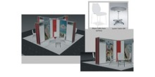 The proposed design for this year's Business Buyers' Lounge.