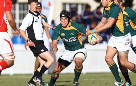 Rikus Bothma playing SA Schools.  Photo: Luke Walker/Gallo Images