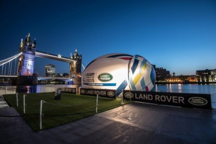 Spectacular unveiling at Tower Bridge London
