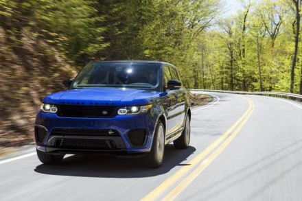 The Range Rover Sport SVR: moves from 0 – 100km/h in 4.5 seconds. Picture: Land Rover