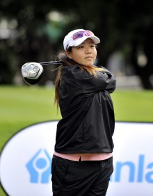 Woo-Ju Son from Gauteng A fired a three-under-par 70 to help Gauteng A to the summit in the Swiss Trophy at the 72-Hole Teams Championship at Mossel Bay Golf Club; credit Catherine Kotze / SASPA.