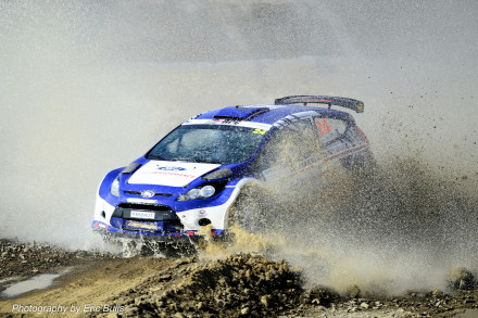 Robin Houghton and Mark Cronje: setting the pace in the rally championships. Picture: Quickpic