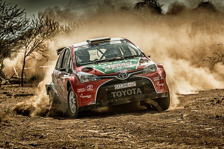 Leeroy Poulter and Elvene Coetzee: leaving the competition in the dust. Picture: Quickpic