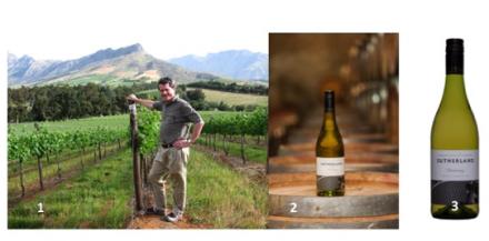 1. Gyles Webb.  2. Styled photograph: Sutherland Chardonnay 2012.  3. Pack shot: Sutherland Chardonnay 2012