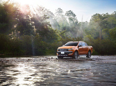 Making its global debut: the Wildtrak, flagship of the Ranger line-up. Picture: Quickpic
