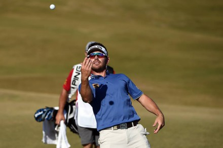 Louis Oosthuizen finished 66, 66. 67 but was left to rue his opening round 77.