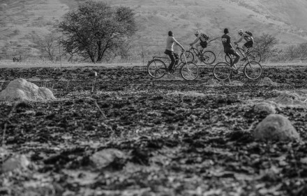 The Berg and Bush mountain bike race has adopted the Qhubeka bike initiative as the official charitable beneficiary for its 10th edition that takes place in the Central Drakensberg this year. Photo: Kelvin Trautman