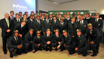 Junior Springboks Squad.  Photo by Roger Sedres/  ImageSA /SARU