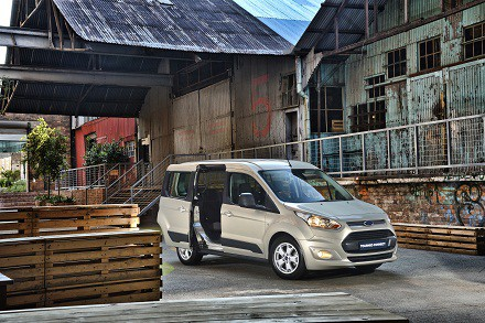 Ford's new Tourneo Connect: a great people mover that ticks all the boxes. Picture: Quickpic