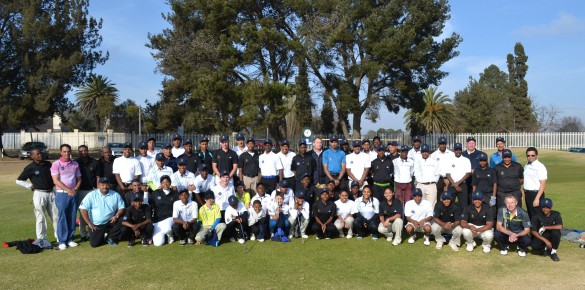 Sixty SAGDB learners from 10 golf unions across South Africa competed in the inaugural SAGDB / Nomads Imperial Auto MFC Golf Challenge at Benoni Country Club on 6 and 7 July; credit SAGDB