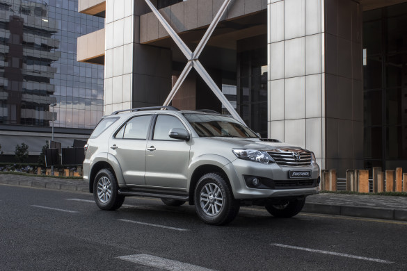 The Fortuner: good performer for Toyota. Picture: Quickpic