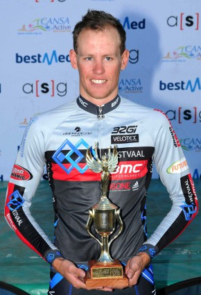 JC Nel will have his sights set on the win in the inaugural three-day Bestmed Jock Tour, which starts in Nelspruit (Mbombela) on Friday. Nel won last year's Bestmed Jock Cycle Classique, the one-day alternative, which takes place again on Saturday. Photo: Jetline Action Photo