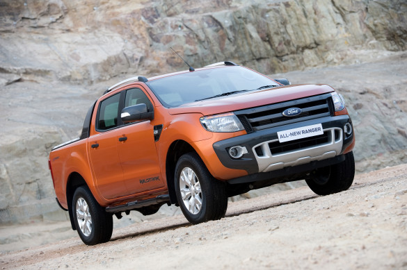 The Ford Ranger: top performer. Picture: Quickpic