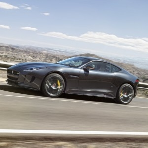 The Jaguar F-Type R Coupe: this new cat is no slouch. Picture: Motorpress
