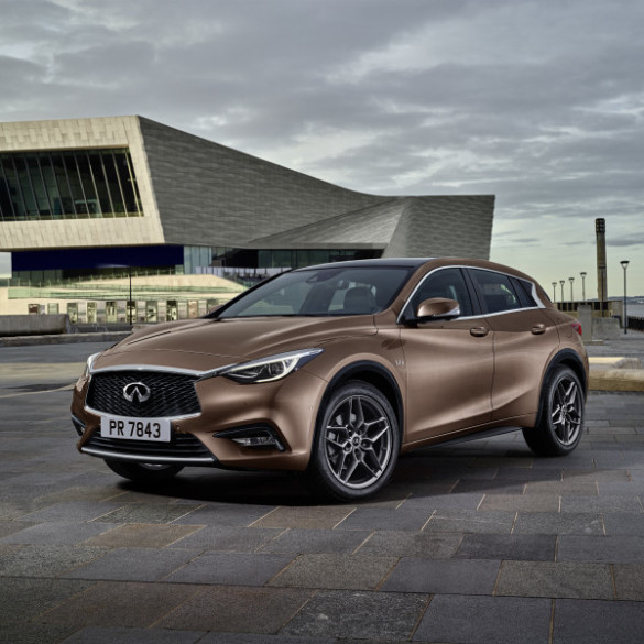 The Infiniti Q30 Premium Active Compact:  distinctive design. Picture: Motorpress