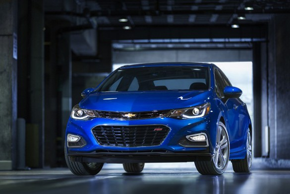 """The 2016 Cruze: larger, lighter and """"more efficient"""". Picture: Quickpic"""