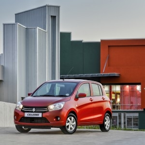 Suzuki Celerio GL: ideal for city driving. Picture: Motorpress