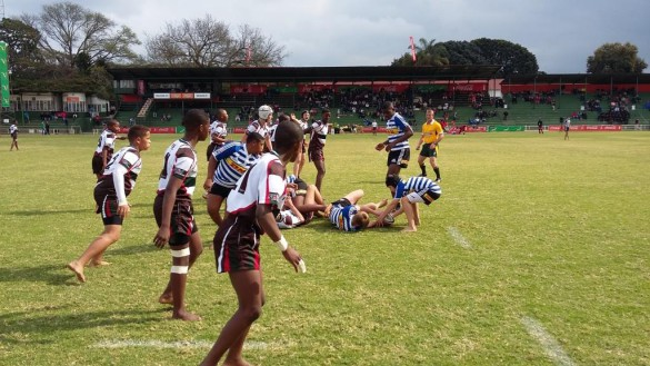 DHL Western Province dominated Border during day two of the U13 Coca-Cola Craven Week tournament