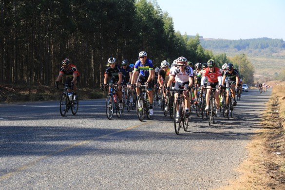 Former Springbok cyclist Mark Spencer soloed to victory in South Africa's oldest one-day stage race, the 150km Bestmed Jock Classique, in Nelspruit on Saturday