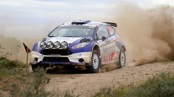 Robin Houghton and Mark Cronje: hard fought rally in trying conditions. Picture: Eric Buijs