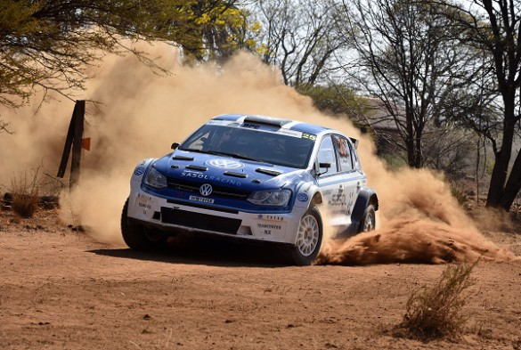 Hergen Fekken and Pierre Arries: they will be stirring up the dust in Port Elizabeth. Picture: Quickpic