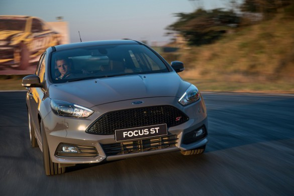 The new Ford Focus ST: punishing durability tests. Picture: Quickpic