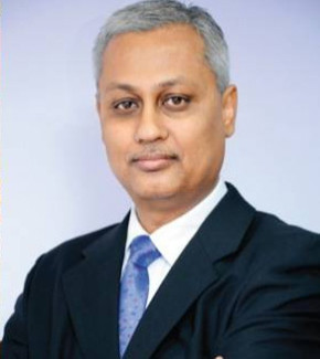 Sanjoy Gupta: moving into the hot seat. Picture: Quickpic