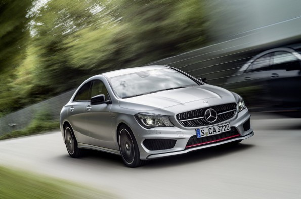 The Mercedes Benz CLA-250 sport: record sales for Mercedes worldwide. Picture; Quickpic