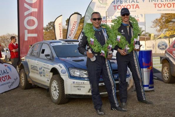 Hergen Fekken and Pierre Arries: first win of the season