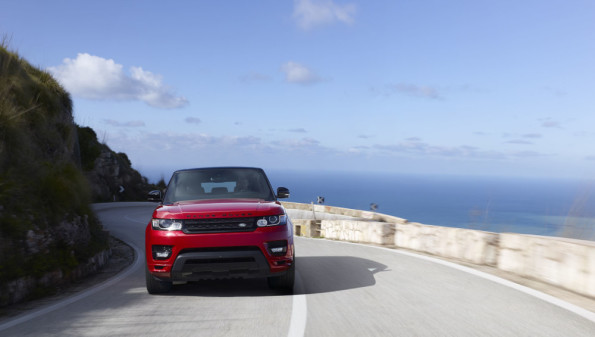 The Range Rover Sport: technology to help driver enjoy the experience. Picture: Motorpress/ Range Rover