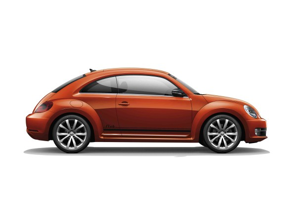 Stylish: the Beetle Club, now with new alloy wheels and interior trim. Picture: Quickpic
