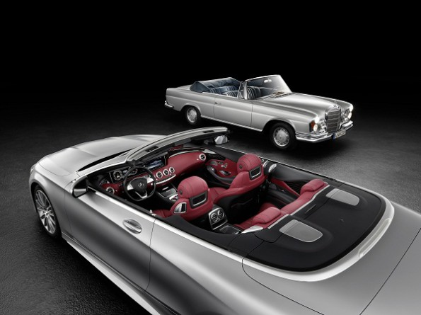Mercedes S-Class cabriolet: will be seen at the Frankfurt International Motor Show. Picture: Quickpic