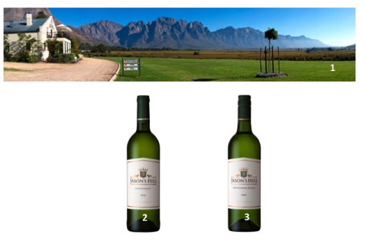1.     The picture perfect Jason's Hill Private Cellar 2.     Jason's Hill Chardonnay 2014 3.     Jason's Hill Sauvignon Blanc 2015