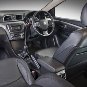 Inside, the Suzuki Ciaz GL 1.4 has a neat and uncluttered look. Pictures: Motorpress