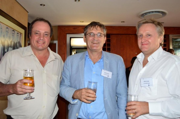 Andre Liebenberg (Garlicke & Bousfield Inc), Gavin Gow (Gavin Gow Attorneys) and Mike Stone (Standard Bank)