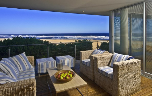 Keurbooms: Situated on Keurbooms Beach just 10 minutes from Plettenberg Bay this five bedroom, five bathroom house is on the market in Keurbooms near Plettenberg Bay is priced at R19.95 million through Pam Golding Properties