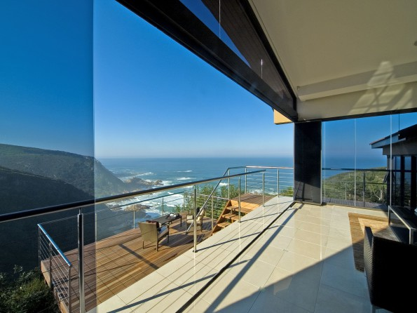 The sweeping ocean view from a home on Pezula Golf Estate in Knysna which has just been sold by Pam Golding Properties for R11 million