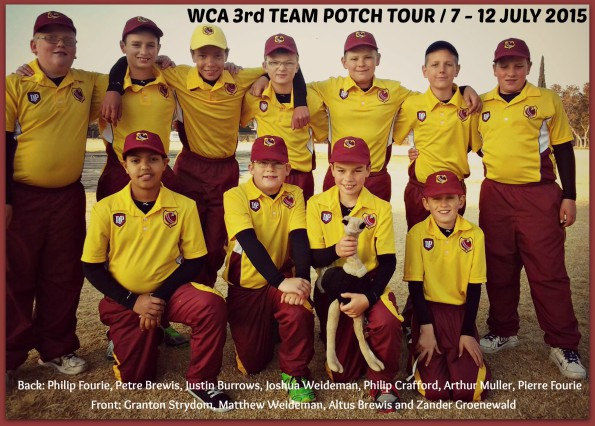 Potch Tour 2015 3rd Team
