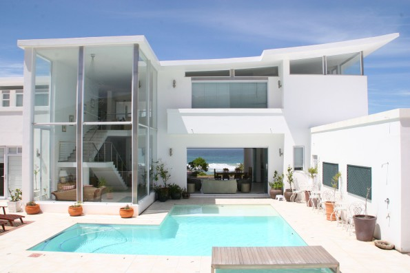 This six bedroom, four bathroom mansion on Wilderness Beach is priced at R15.75 million through Pam Golding Properties