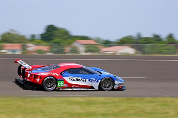 Ford's GT race car: primed for action at Silverstone. Picture: Quickpic
