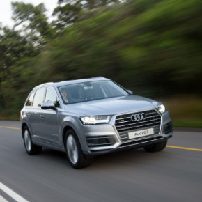 The new Audi Q7 3 TDI quattro tiptronic: all the bells and whistles. Picture: Motorpress