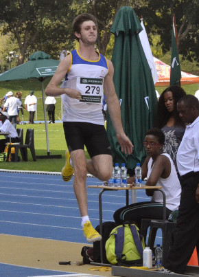 University of Johannesburg Paralympian Andrea Dalle Ave is set to take on his own T31 African long-jump record when he represents South Africa at the 2015 IPC Athletics World Championships in Doha, Qatar, at the end of October. Photo: Mark Hoinkes
