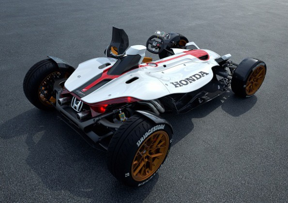 "World debut for winner of Honda's ""Global Design Project"". Picture: Quickpic"